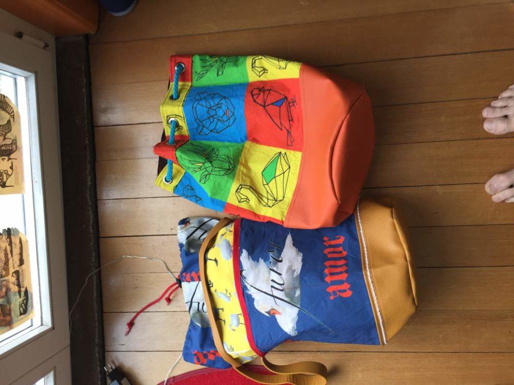 Sommerbag vierfarben